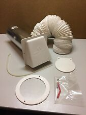 "Vintage L&L Vent Hood Kit Flexible Ducting Kitchen 10ft-3050mm x 4""-102mm VC006"