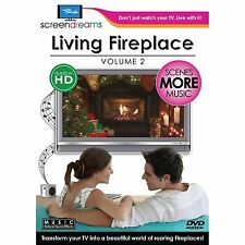 LIVING FIREPLACE Vol. 2: VIRTUAL CHRISTMAS HOLIDAY DVD (Filmed in Widescreen HD)
