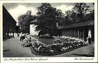 Bad Orb Spessart AK 1959 gelaufen Partie am Gradierwerk Personen Grünanlagen