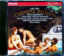 Seiji OZAWA Carl ORFF Carmina Burana CD Edita GRUBEROVA Thomas HAMPSON John ALER
