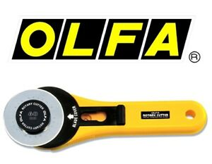 Olfa Straight Cut Rotary Cutter 60mm Right Or Left Handed RTY-3/G Craft Quilting