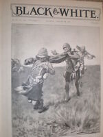 Boer War Boer treachery at Magersfontein John H Bacon 1900 old print