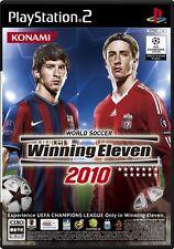 Used PS2 World Soccer Winning Eleven 2010 Import Japan