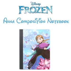 New Composition Frozen Notebook Disney Elsa Anna 100 Wide Ruled Sheets School