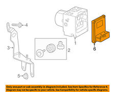 Cadillac GM OEM 09-10 CTS ABS Anti-Lock Brake System-Control Module 20803608