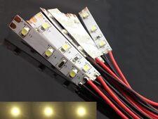 S762 - 10 Stück LED Hausbeleuchtung mit Kabel warmweiß 8-16V Beleuchtung Häuser