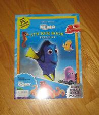 New listing Disney Pixar Finding Nemo Sticker Book Treasury Over 350 Reusable Stickers Bonus