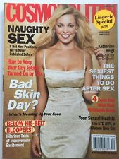 KATHERINE HEIGL December 2006 COSMOPOLITAN  Magazine