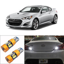 HID White 19-SMD LED Bulbs Fit for Hyundai Genesis Coupe 2010-2016 Backup Lights