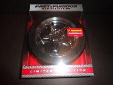 FAST & FURIOUS DVD COLLECTION-7 Movies-Vin Diesel, Paul Walker, Dwayne Johnson