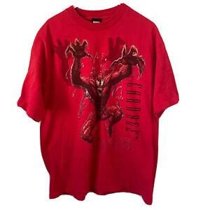 marvel comics mad engine carnage the amazing spider-man shirt adult mens xl rare