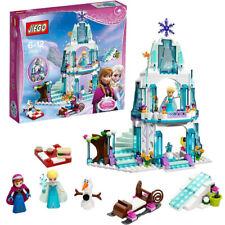 Frozen Elsa&Anna Princess Castle Building Blocks Set Birthday Gift Figures Toy