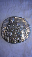 Médaille en bronze argenté Troyes grandeur du gothique Monnaie de Paris 1975