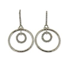 Gurhan Hoopla 18k Gold Diamond Circle Earrings $4860
