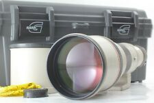 【N Mint】 Canon New FD 500mm f/4.5 L Telephoto Lens w/ Case & Hood From Japan