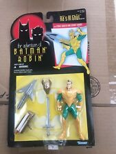 Batman Animated Adventures of Batman & Robin Ra's Al Ghul Figure 1995 Kenner MOC