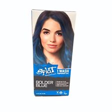 Splat BOLDER BLUE 1 Wash Temporary Dye 1.5 FL OZ / 44 ML