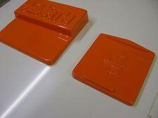 FIAT 500 ABARTH Gloss Arancione FUSIBILE COPERCHIO E BATTERIA COVER SET