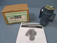 """Hansen Pressure Relief Valve- for Refrigerant: H56 02/200, 3/4"""" x 1"""", 200 PSIG"""