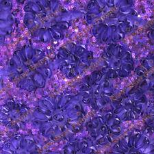 Purple Sequin Taffeta Ribbon Cord 4083 Fabric 58 inches Width By The Yard
