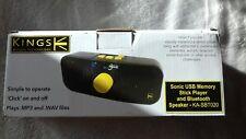 Sonic Reproductor De Memoria Usb Y Altavoz Bluetooth KA-SBT020. reproduce MP3 + WAV