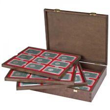 Lindner 2494-19 Estuche de madera maciza CARUS (para cápsulas originales del USA