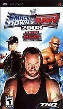 WWE SmackDown vs. Raw 2008 Featuring ECW (Sony PSP, 2007)