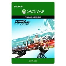 BURNOUT PARADISE REMASTERED * XBOX ONE GAME DOWNLOAD * SAME DAY TEXT MESSAGE