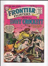FRONTIER FIGHTERS #2 ==> GD/VG DAVY CROCKETT DC COMICS 1955