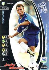 FOOTBALL CHAMPIONS 2001-02 Jody Morris 071/250 Chelsea F.C. FOIL