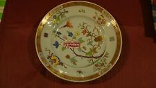 """Herend SHanghai/Chinois  Pattern 10"""" Rim Soup Bowl  3 are Dated  1940 Blue Glaze"""