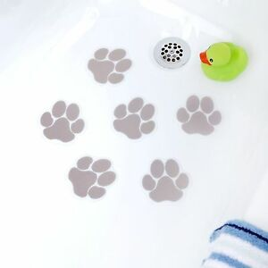 Adhesive Paw Print Bath Treads By SlipX Solutions