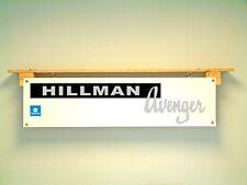 Hillman Avenger Workshop Workshop retro pvc sign, Rootes Chrysler