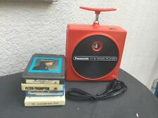 Panasonic TNT 8-Track Player Red RQ-830S works great
