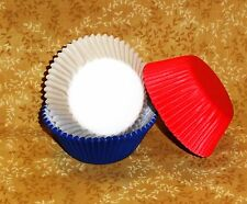 Patriotic Cupcake Papers Red,White,Blue,Multi-Color 75 count. Wilton,415-0527