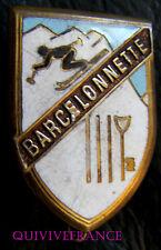SK1227 - INSIGNE SKI CLUB BARCELONNETTE
