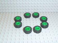 LEGO® Technic 8x Reifen 17,5 x 6 Felge grün wheel 51011u 42610c01 42610 R78