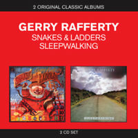 Gerry Rafferty : Classic Albums: Snakes and Ladders/Sleepwalking CD 2 discs