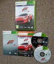 Forza Motorsport 4 mit Bonus Start Track Pack manuelle AUTORENNEN XBOX 360 Spiel