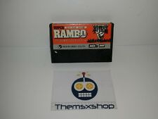 S 89-01 msx 2 super rambo special with not for sale sticker (video) in pack