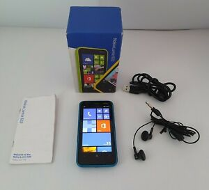 Nokia Lumia 620 Mobile phone 8GB On EE Network with Accessories & Boxed