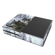 Xbox One Console Skin - Snow Wolves by Dimitar Neshev - Sticker Decal Wrap