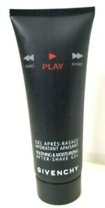 GIVENCHY PLAY Soothing & Moisturizing After Shave Gel 2.5oz VINTAGE Scuffed Tube