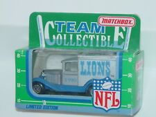 MATCHBOX 1990 TEAM COLLECTIBLE LIMITED EDITION LIONS