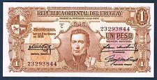 URUGUAY - BILLET de BANQUE 1 PESO Pick n° 35.a de 1939 en NEUF Série C 23293844