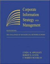 Corporate Information Strategy and Management: The Challenges of Managing in a