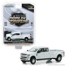 GREENLIGHT 2018 FORD F-350 PICK UP TRUCK KING RANCH 1/64 OXFORD WHITE 46010 C
