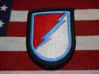 US Army 124th Cavalry Regiment C Troop 3rd Squadron Airborne Beret Flash m/e