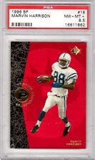 1996 SP #18 Marvin Harrison RC Rookie Colts PSA 8.5