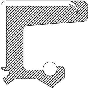 Manual Trans Main Shaft Seal-Oil Seal National 2443